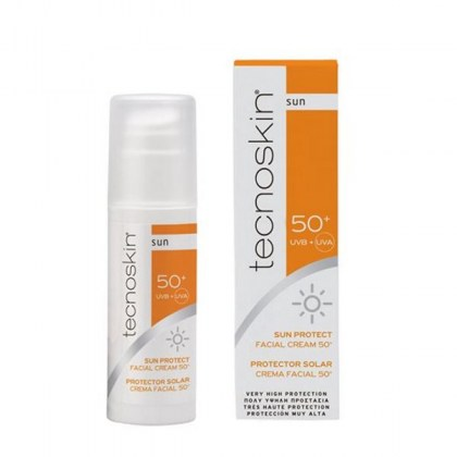 TECNOSKIN SUN PROTECT FACIAL CREAM SPF 50+
